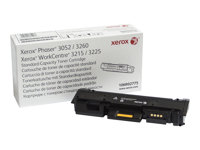 Xerox WorkCentre 3215 - Svart - original - tonerpatron - for Phaser 3260; WorkCentre 3215, 3225 106R02775