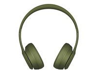 Beats Solo3 - Neighborhood Collection - hodetelefoner med mikrofon - on-ear - Bluetooth - trådløs - lydisolerende - torvgrønn - for 10.5-inch iPad Pro; 12.9-inch iPad Pro; 9.7-inch iPad (5th generation, 6th generation); iPad Air; iPad Air 2; iPad mini 2; 3; 4; iPhone 5, 5c, 5s, 6, 6 Plus, 6s, 6s Plus, 7, 7 Plus, 8, 8 Plus, SE, X; iPod touch (6G); TV; Watch MQ3C2ZM/A