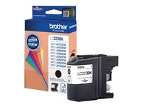 Brother LC223BK - Svart - original - blekkpatron - for Brother DCP-J4120, J562, MFC-J4625, J480, J680, J880; Business Smart MFC-J4420, J4620 LC223BK