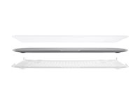 "Belkin Snap Shield for MacBook Air (11-inch Case) - Deksel for notebook - 11"" - gjennomskinnelig - for Apple MacBook Air (11.6 in) B2A080-C00"