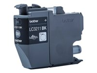 Brother LC3211BK - Svart - original - blekkpatron - for Brother DCP-J572, DCP-J772, DCP-J774, MFC-J890, MFC-J895 LC3211BK