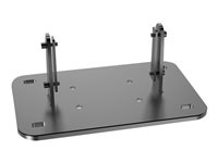 Multibrackets M Public Display Floormount Fixed Base - Monteringssett (gulvmontering) for videovegg - stål - svart 7350022739840