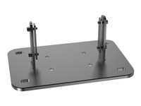 Multibrackets M Public Display Floormount Fixed Base - Monteringskomponent (floor stand base) for public display stand/video wall - stål - sølv 7350073733002