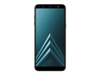 "Samsung Galaxy A6+ - SM-A605FN/DS - smarttelefon - dobbelt-SIM - 4G LTE - 32 GB - microSDXC slot - GSM - 6"" - 2220 x 1080 piksler - Super AMOLED - RAM 3 GB - 16 MP (24 MP front camera) - Android - svart SM-A605FZKNNEE"
