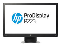 "HP ProDisplay P223 - LED-skjerm - Full HD (1080p) - 21.5"" X7R61AA#ABB"