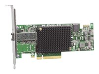 Emulex 16Gb FC Single-port HBA for IBM System x - Vertbussadapter - PCIe 2.0 x8 - 16Gb Fibre Channel - for System x3100 M5; x3250 M4; x35XX M3; x3650 M3; x3650 M4 HD; x3690 X5; x3755 M3; x3850 X5 81Y1655