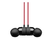 Beats urBeats3 - The Beats Decade Collection - ørepropper med mikrofon - i øret - kablet - 3,5 mm jakk - lydisolerende - rød, defiant black - for 10.5-inch iPad Pro; 12.9-inch iPad Pro; 9.7-inch iPad; 9.7-inch iPad Pro; iPhone 7, 8, X MRTU2ZM/A