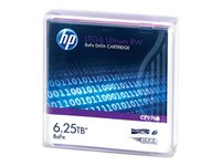 HPE Ultrium RW Data Cartridge - LTO Ultrium 6 6.25 TB - for StoreEver MSL2024, MSL4048, MSL8096; StoreEver 1/8 G2 Tape Autoloader C7976B