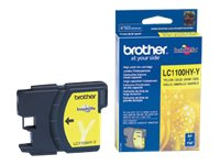 Brother LC1100HYY - Høy ytelse - gul - original - blekkpatron - for Brother DCP-6690CW, MFC-5890CN, MFC-5895CW, MFC-6490CW, MFC-6890CDW; Justio MFC-5890CN LC1100HYY