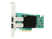 Emulex VFA5.2 - Nettverksadapter - PCIe 3.0 x8 lav profil - 10Gb Ethernet x 2 - for ThinkAgile VX 1U Certified Node; ThinkSystem SR550; SR570; SR590; SR630; SR650; SR950 00AG570
