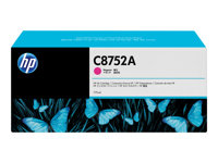 HP - 775 ml - magenta - original - blekkpatron - for Color CM8050 MFP with Edgeline Technology, CM8060 MFP with Edgeline Technology C8752A