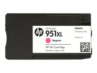 HP 951XL - 17 ml - Høy ytelse - magenta - original - blekkpatron - for Officejet Pro 251dw, 276dw, 8100, 8600, 8600 N911a, 8610, 8615, 8616, 8620, 8625, 8630 CN047AE#301
