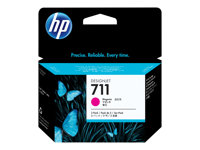 HP 711 - 3-pack - 29 ml - magenta - original - blekkpatron - for DesignJet T120, T120 ePrinter, T520, T520 ePrinter CZ135A
