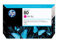 HP 80 - 350 ml - magenta - original - blekkpatron - for DesignJet 1050c, 1050c plus, 1055cm, 1055cm plus C4847A