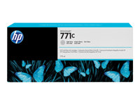 HP 771C - 775 ml - lysegrå - original - blekkpatron - for DesignJet Z6200 B6Y14A