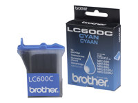 Brother LC600C - Cyan - original - blekkpatron - for Brother MFC-580, MFC-590 LC600C