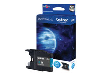 Brother LC1280XLC - Cyan - original - blekkpatron - for Brother MFC-J5910DW, MFC-J6510DW, MFC-J6710DW, MFC-J6910DW LC1280XLC