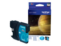 Brother LC1100C - Cyan - original - blekkpatron - for Brother DCP-185, 385, 395, 585, J715, MFC-490, 5490, 5890, 5895, 6890, 790, 795, 990, J615 LC1100C