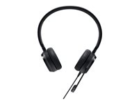 Dell Pro Stereo Headset UC350 - Hodesett - on-ear - kablet - for Latitude 54XX, 55XX; OptiPlex 5260, 7460, 7760, XE3; Precision 3430, 3630; Dell Wyse 5070 520-AAMC