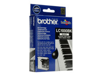 Brother LC1000BK - Svart - original - blekkpatron - for Brother DCP-350, 353, 357, 560, 750, 770, MFC-3360, 465, 5460, 5860, 660, 680, 845, 885 LC1000BK