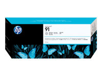 HP 91 - 775 ml - lysegrå - original - blekkpatron - for DesignJet Z6100, Z6100ps C9466A