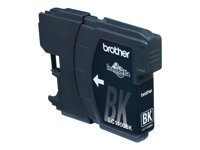 Brother LC1100BK - Svart - original - blekkpatron - for Brother DCP-185, 385, 395, 585, J715, MFC-490, 5490, 5890, 5895, 6890, 790, 795, 990, J615 LC1100BKBPDR